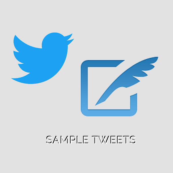 SAMPLE TWEETS